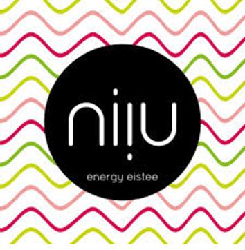 Logo niiu - energy Eistee